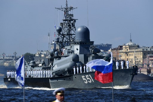 سفن روسية