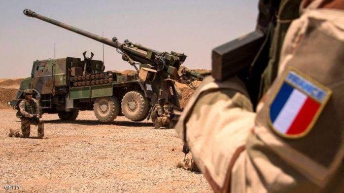 عنصر من القوات المسلحة الفرنسية في العراق