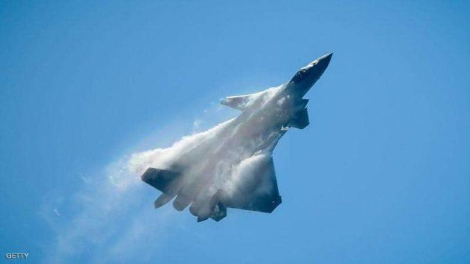 المقاتلة الصينية الشبح من طراز جي-20