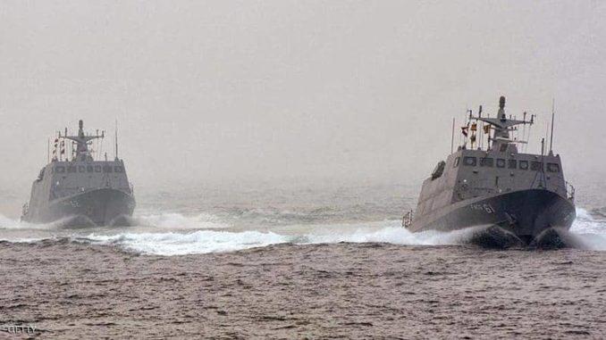 زوارق قتالية تابعة للبحرية التايوانية