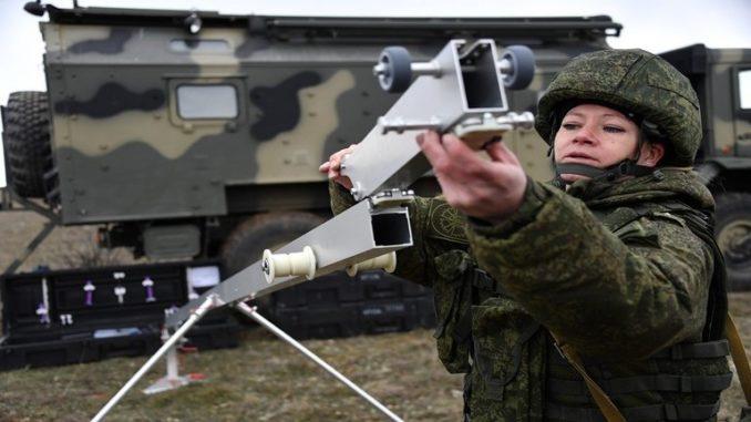 استخدام الدرونات في الجيش الروسي