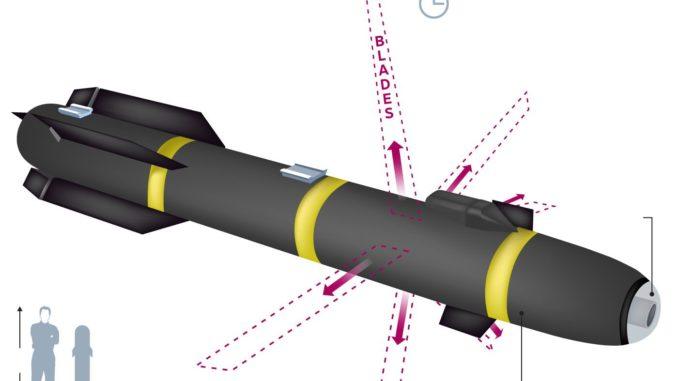 رسم لصاروخ نينجا السري Javelin R9X