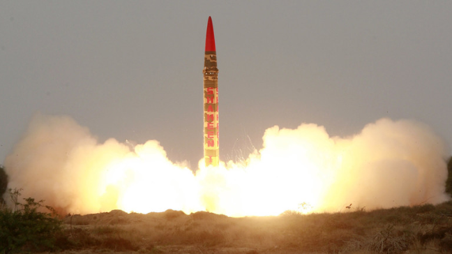صاروخ باليستي باكستاني