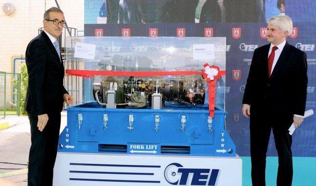 صناعات الفضاء التركية تتسلم أول محرك مروحية