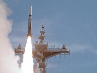 """صاروخ """"إس إم-2 بلوك آي آي آي بي""""الأميركي"""