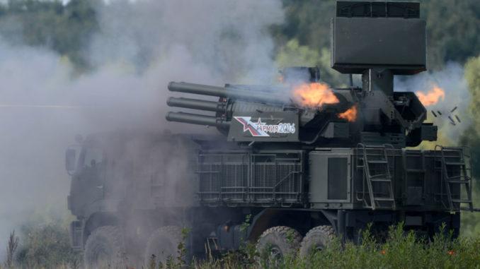 منظومة بانتسير إس-1 للدفاع الجوي