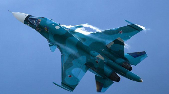 قاذفة سو-34 الروسية