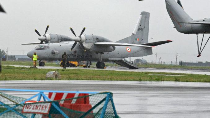 طائرة AN-32 العسكرية
