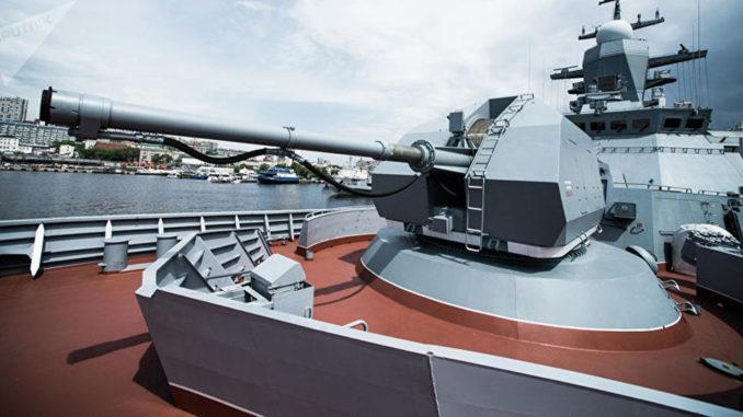 """قاتلة الغواصات: سفينة من طراز """"كورفيت"""" التابعة لأسطول المحيط الهادئ الروسي"""