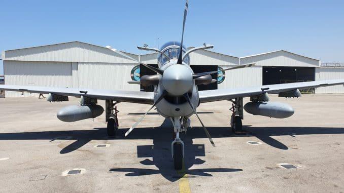طائرة الهجوم الخفيف A-29 Super Tucano