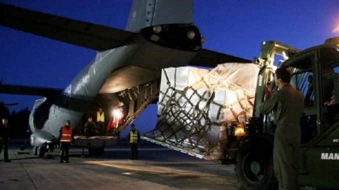 وصول قذائف دول الناتو البلطيقية إلى أوكرانيا في 11 حزيران/ يونيو 2019