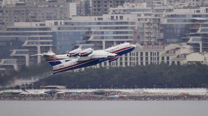 """طائرة """"بي – 200"""" البرمائية الروسية"""