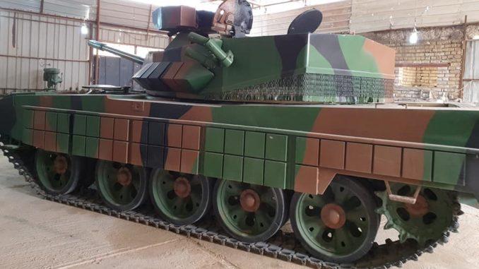 """دبابة """"الكفيل"""" العراقية محلية الصنع"""