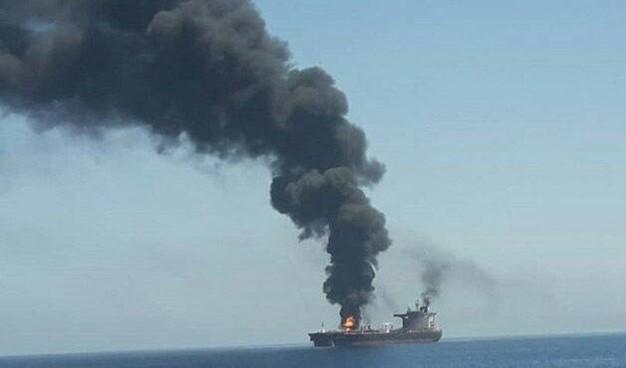 إستهداف ناقلتي نفط في خليج عُمان في 13 حزيران/ يونيو 2019
