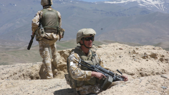عناصر من قوة دفاع نيوزيلندا