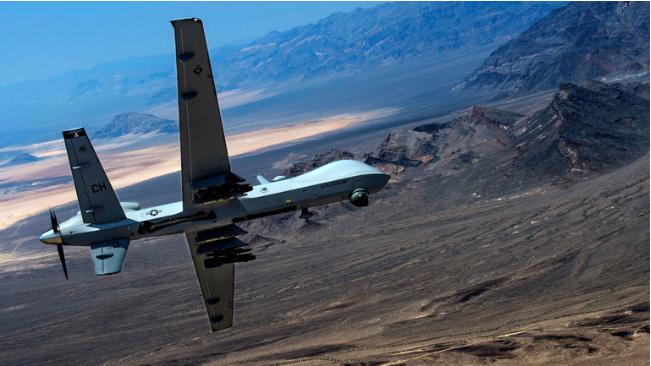 """طائرة استطلاع مسيرة من طراز """"MQ-9"""""""