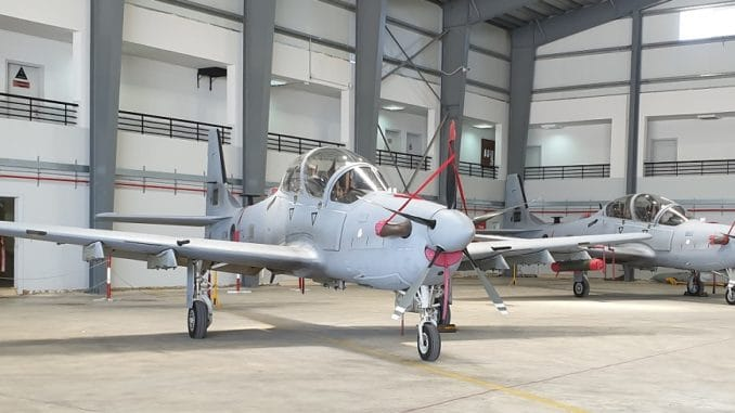 طائرة الهجوم الخفيف A-29 سوبر توكانو للقوات الجوية اللبنانية