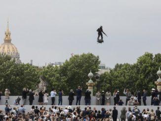 العرض العسكري الفرنسي