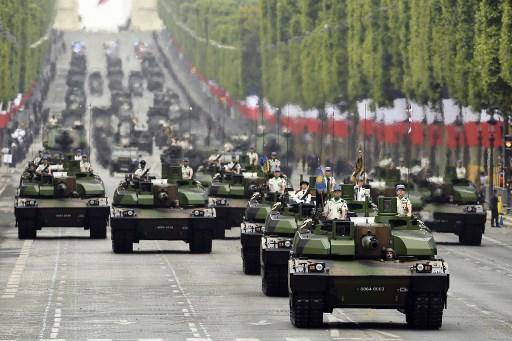 عرض عسكري فرنسي