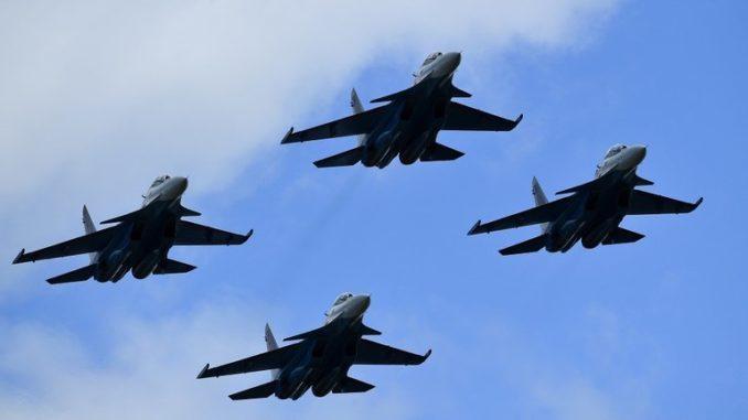 """مجموعة من مقاتلات """"سو 30_إم إس"""" الروسية"""