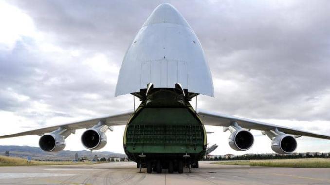 وصول معدات إس 400 إلى تركيا
