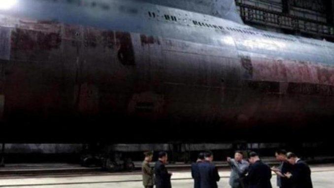 غواصة نووية كورية شمالية