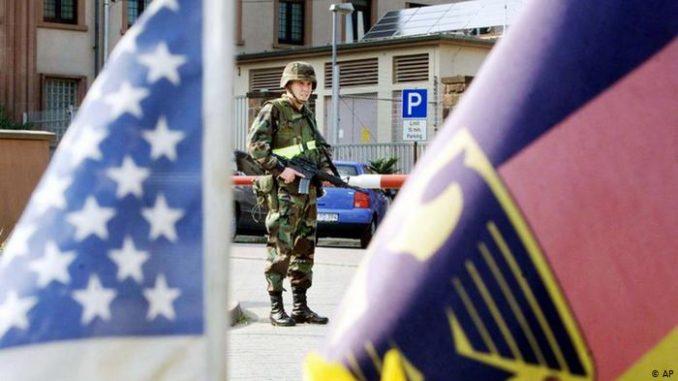 عنصر من القوات المسلحة الأميركية في ألمانيا