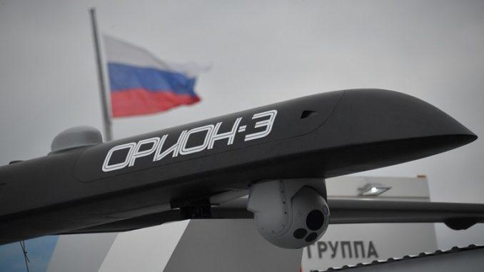 """طائرة رون """"اوريون - إي"""" بدون طيار الروسية"""