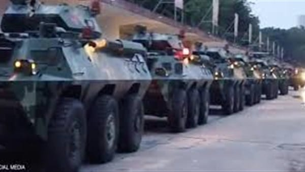 عربات عسكرية صينية