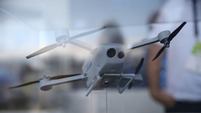 طائرة بدون طيار من إنتاج شركة أسيلسان التركية