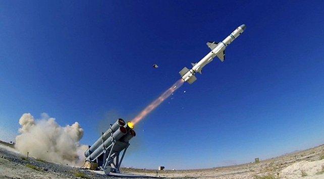 """صاروخ """"الصقر"""" التركي"""