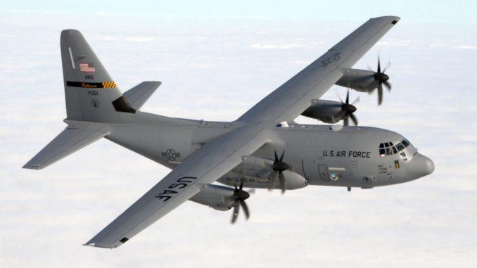 طائرة سي-130 جي الأميركية