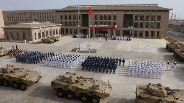 القاعدة العسكرية الصينية في جيبوتي