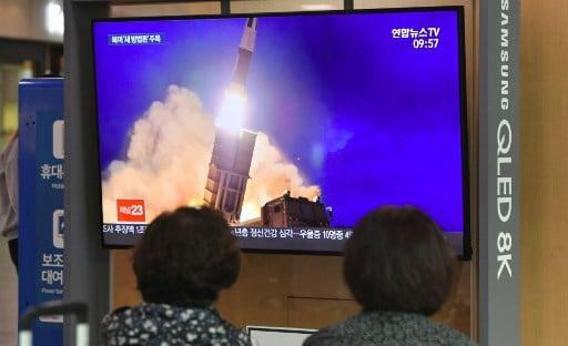 صاروخ كوريا الشمالية