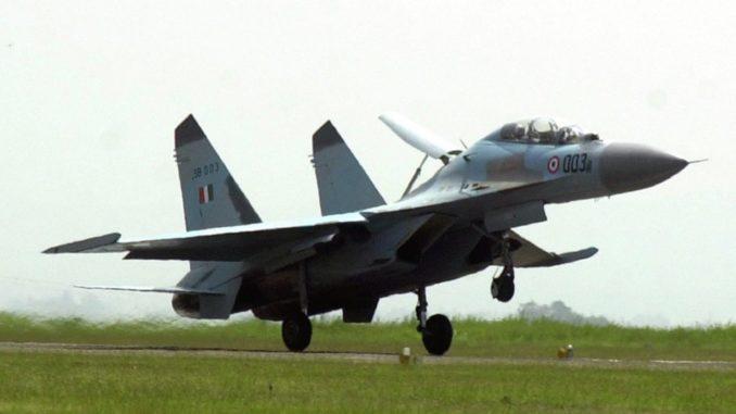 مقاتلة سو-30 الهندية (صورة أرشيفية)