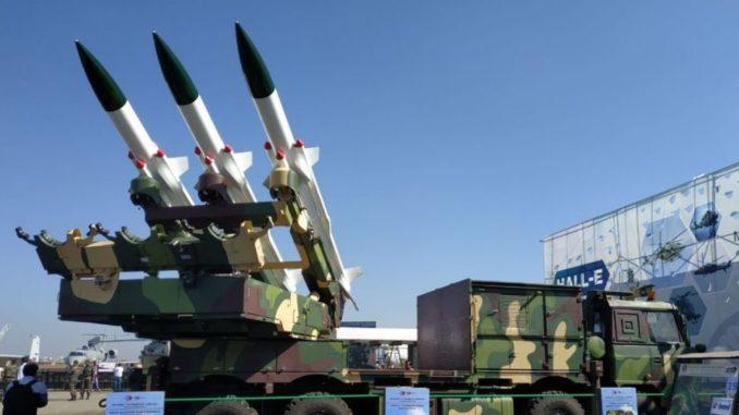 صواريخ أرض-جو مصممة على غرار سام-6 الروسية