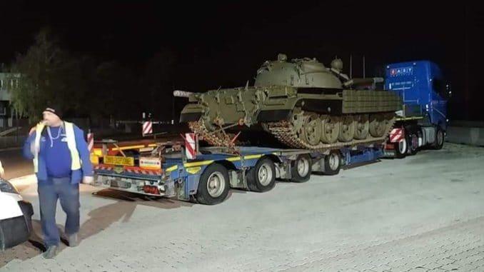 """دبابة """"تي -55"""" المطورة"""
