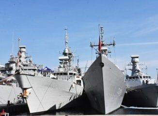 """انطلاق مناورات """"شرق المتوسط 2019"""" البحرية"""