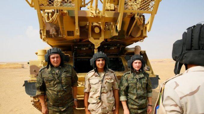 المناورات الروسية- المصرية