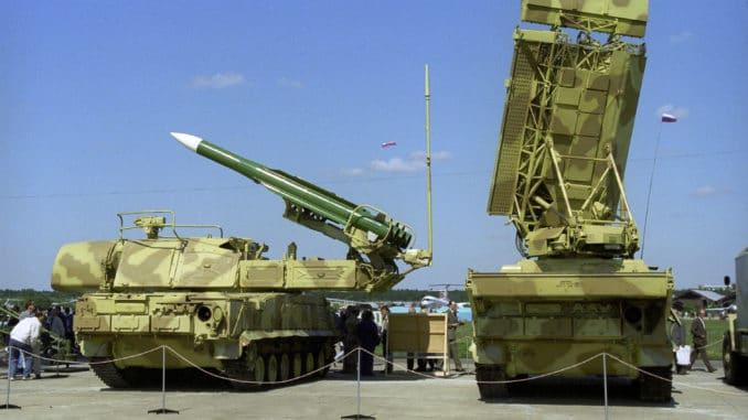 صواريخ باك إم الروسية المضادة للطائرات