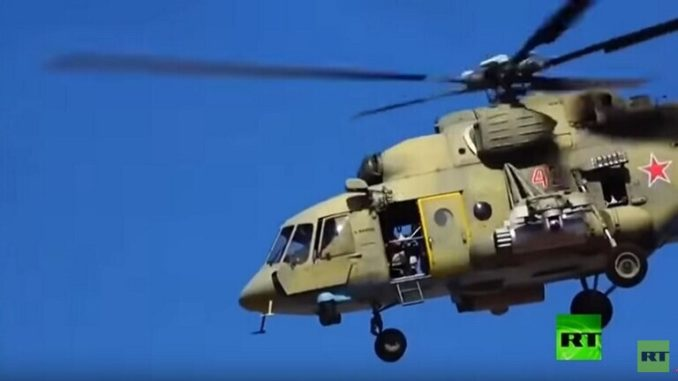 دوريات جوية روسية