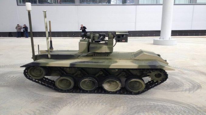 روبوت روسي مقاتل