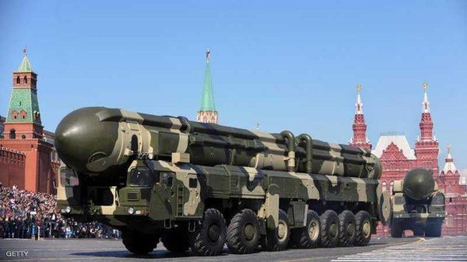 صواريخ نووية روسية
