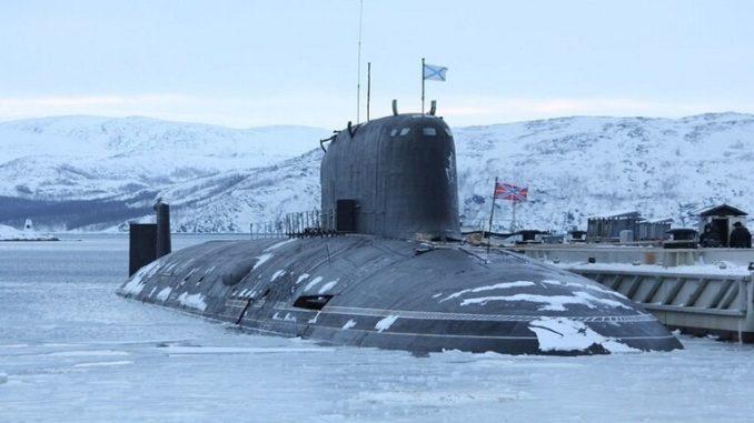 """غواصة """"قازان"""" الضاربة للبحرية الروسية"""