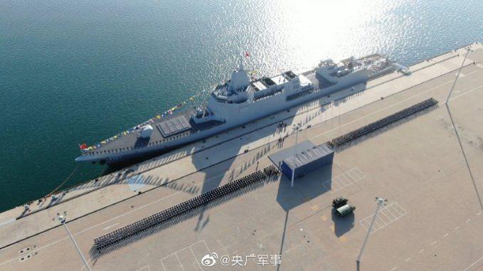 """مدمرة صينية رئيسية من مشروع 055 """"نانتشانغ"""""""