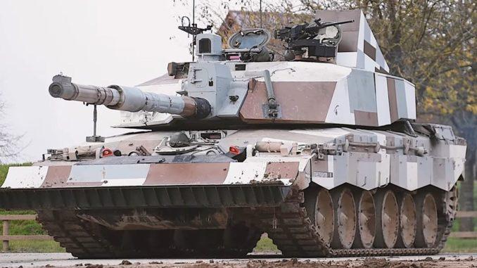 """دبابة """"Challenger 2"""" البريطانية"""