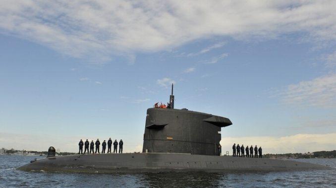 غواصة تابعة للقوات البحرية الهولندية