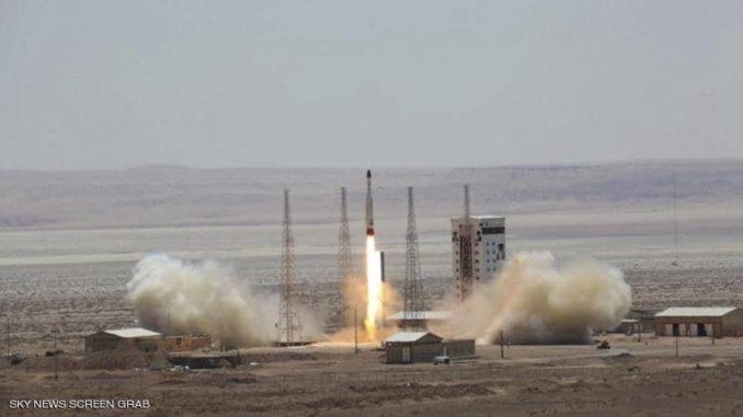 فشل إطلاق قمر صناعي إيراني