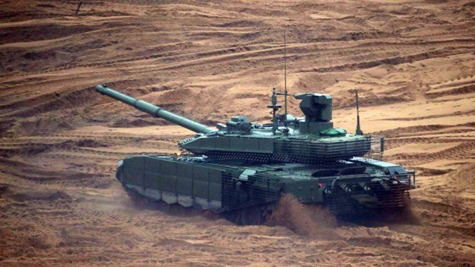 دبابة تي 90 إم إس الروسية