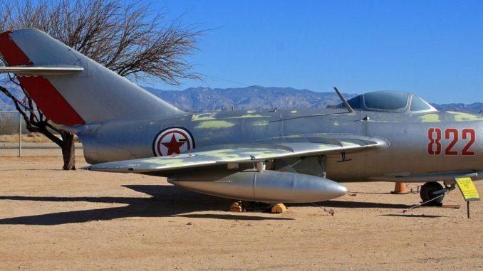 مقاتلة Mig-17 الكورية الشمالية